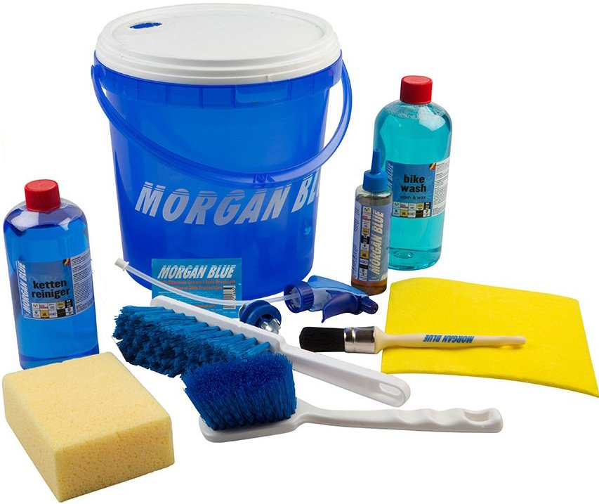 Morgan Blue Professionelt Vedligeholds Kit Med 10 Dele
