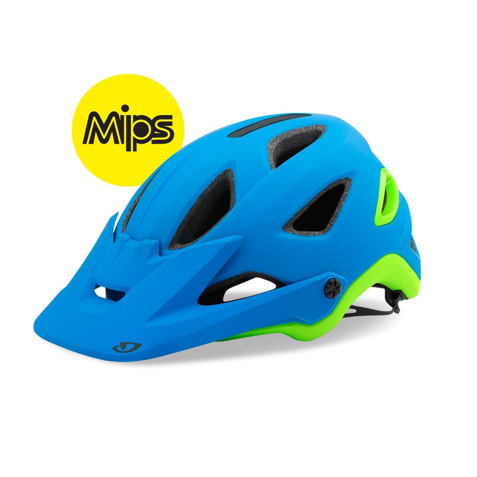 Giro Montaro MIPS hjelm matblå/lime | Hjelme