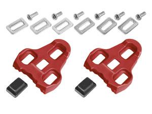 Klamper Look Keo rød 9 grader | Pedal cleats