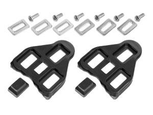 Klamper Look alm sort | Pedal cleats