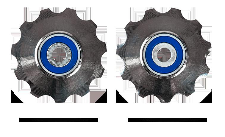 CeramicSpeed 3D printede titaniums pulleyhjul SRAM 11 speed Coated   Pulleyhjul