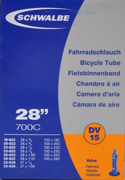 Slange 700x18-28C Dunlop ventil | Slanger