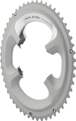 Shimano 105 klinge 50T 11-speed sølv | chainrings_component