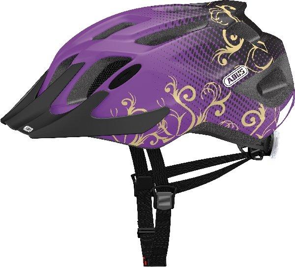 abus MountX maori purple cykelhjelm | Helmets