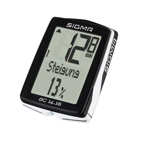 Sigma Sport BC 14.16 STS med højdemåler | Cykelcomputere