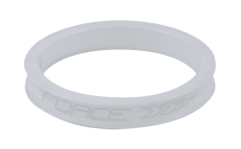 Force ahead spacer 5 mm hvid buet | Spacer