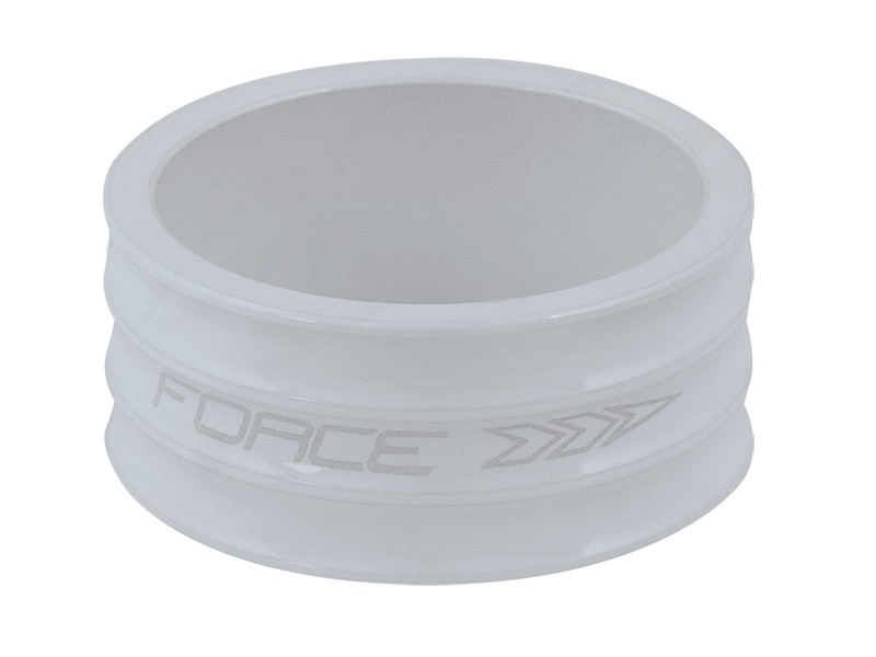 Force ahead spacer 15 mm hvid buet | Spacer