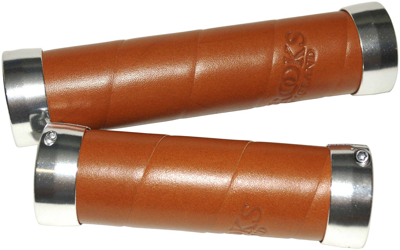 Håndtag Brooks Slender Honey læder 130/100 mm | Håndtag