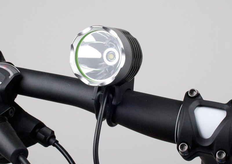 Angry Light 1800 Lumen USB Lygte (uden batteri) | Batterier og opladere