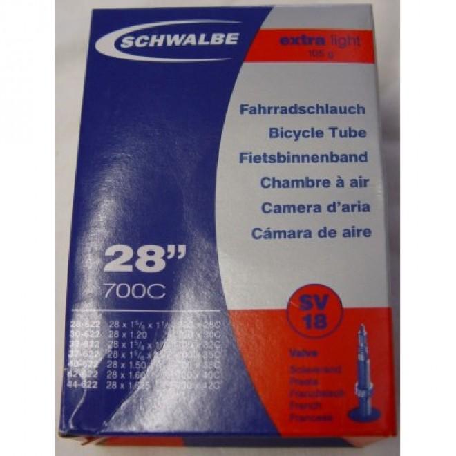 Schwalbe Slange 700x28-42c FV 40mm Extra Light | Slanger