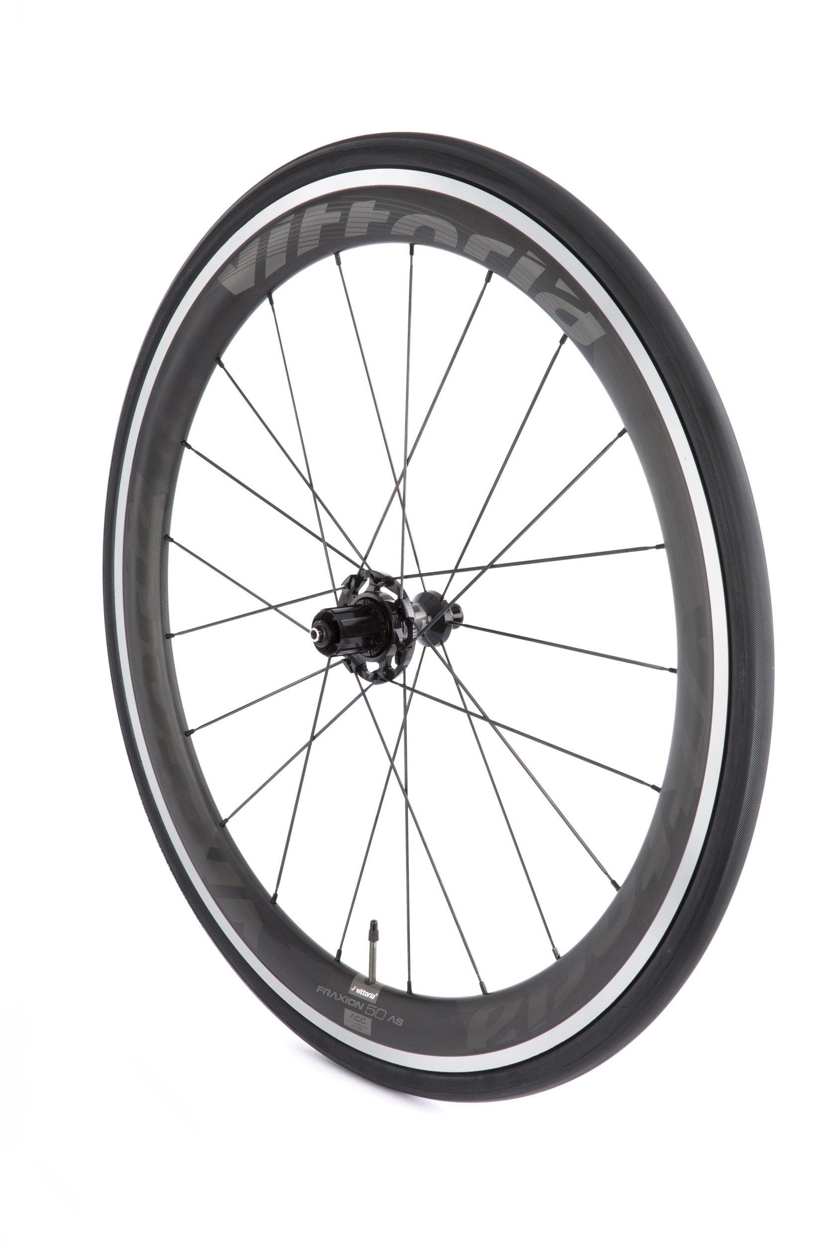 Vittoria Fraxion 45/50 mm alu/carbon hjulsæt   Hjulsæt