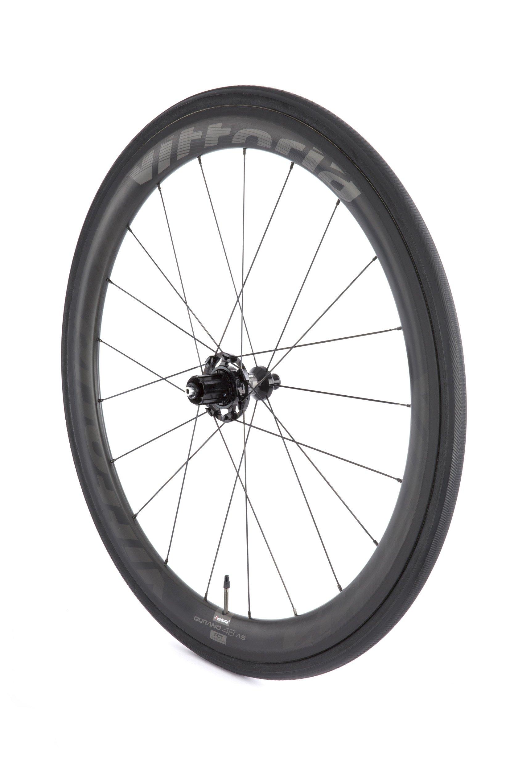Vittoria Qurano 46 G+ carbon tubular hjulsæt | Hjulsæt