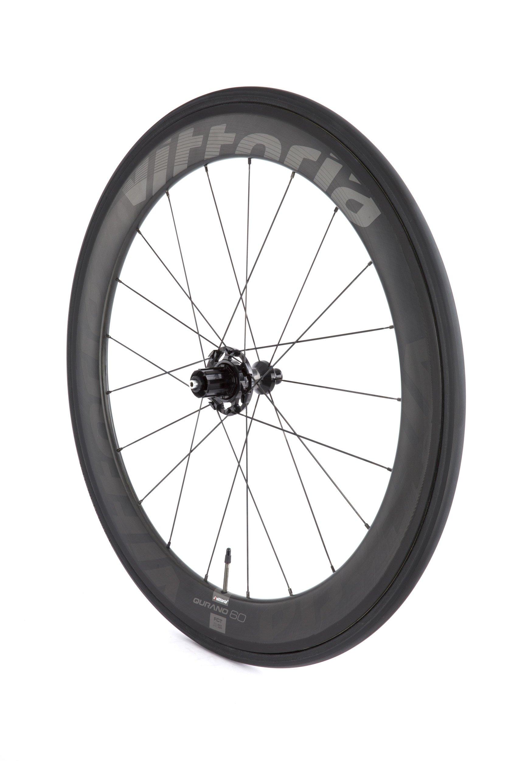 Vittoria Qurano 60 G+ carbon tubular hjulsæt | Hjulsæt
