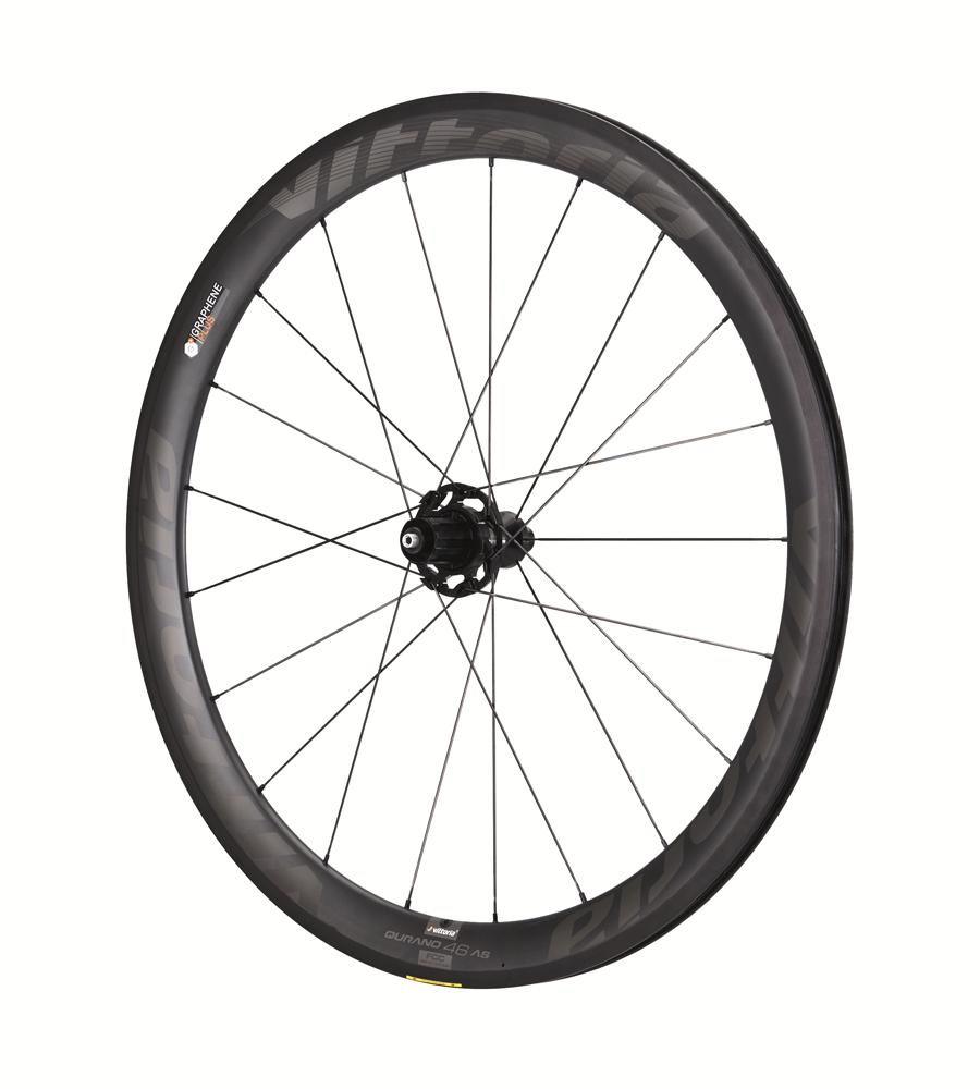 Vittoria Qurano 46c G+ carbon clincher hjulsæt | Hjulsæt