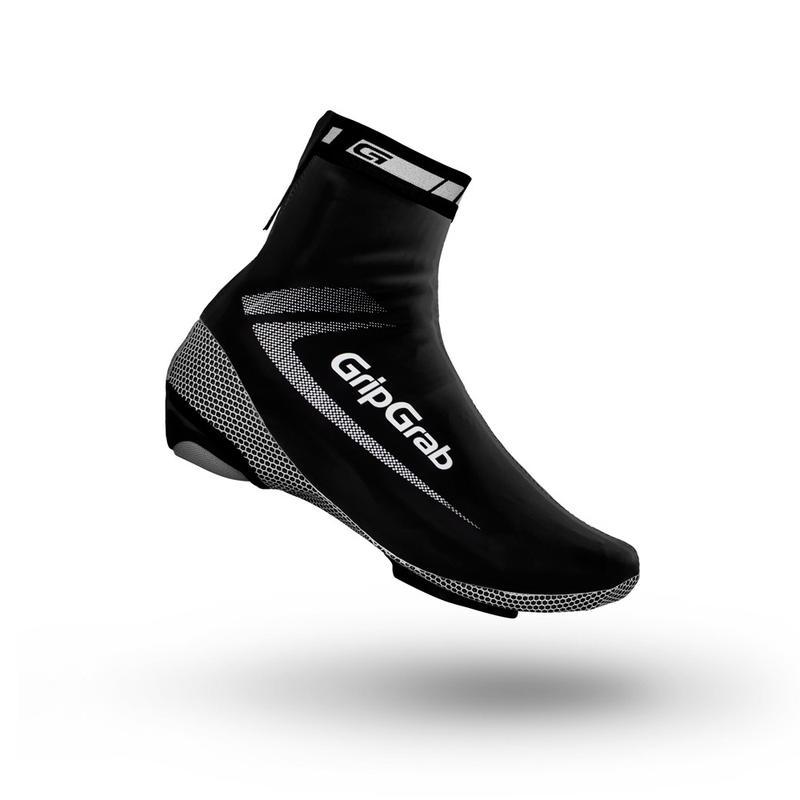 GripGrab RaceAqua skoovertræk Sort   Shoe Covers