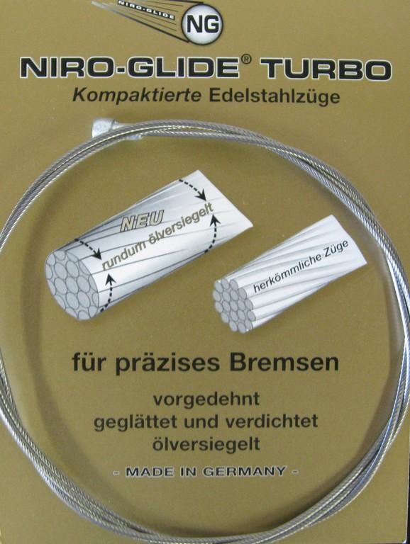 Niro Glide Turbo MTB Bremsewire | Brake cables