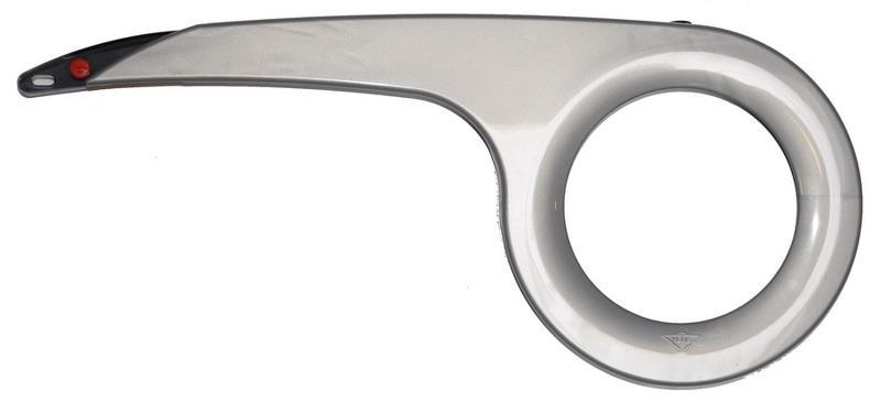 Kædeskærm til 38 tænder sølv | Chain Guard