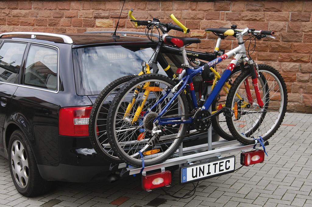 Unitec Alu Atlas cykelholder til 2 cykler | Cykelholder til bil