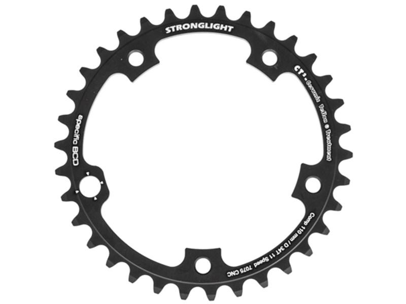 Stronglight CT2 Zicral klinge til Campagnolo 110 mm 11-speed 34T - 359,00 : Cykelgear.dk ...