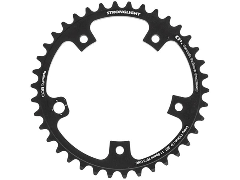 Stronglight CT2 Zicral klinge til Campagnolo 110 mm 11-speed 38T - 359,00 : Cykelgear.dk ...