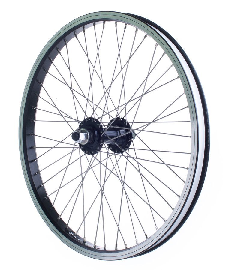 Forhjul Bmx 20 x 1,75 14 mm Aksel 48 H Db DM24 Sort | Forhjul