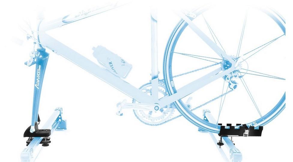 Cykelholder til tag bøjler Peruzzo Rolle | Car racks