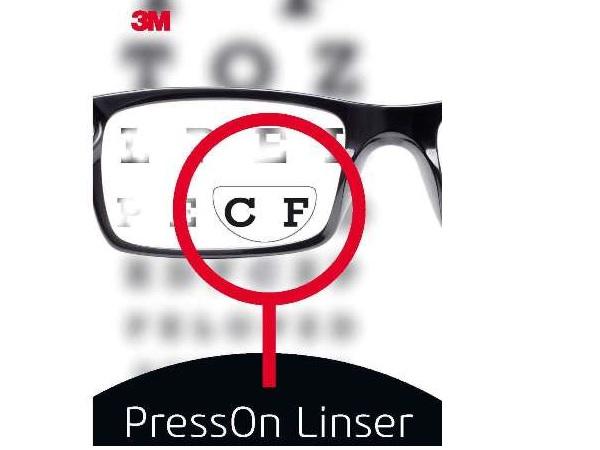 3M Flytbare læsefelter til briller | Glasses