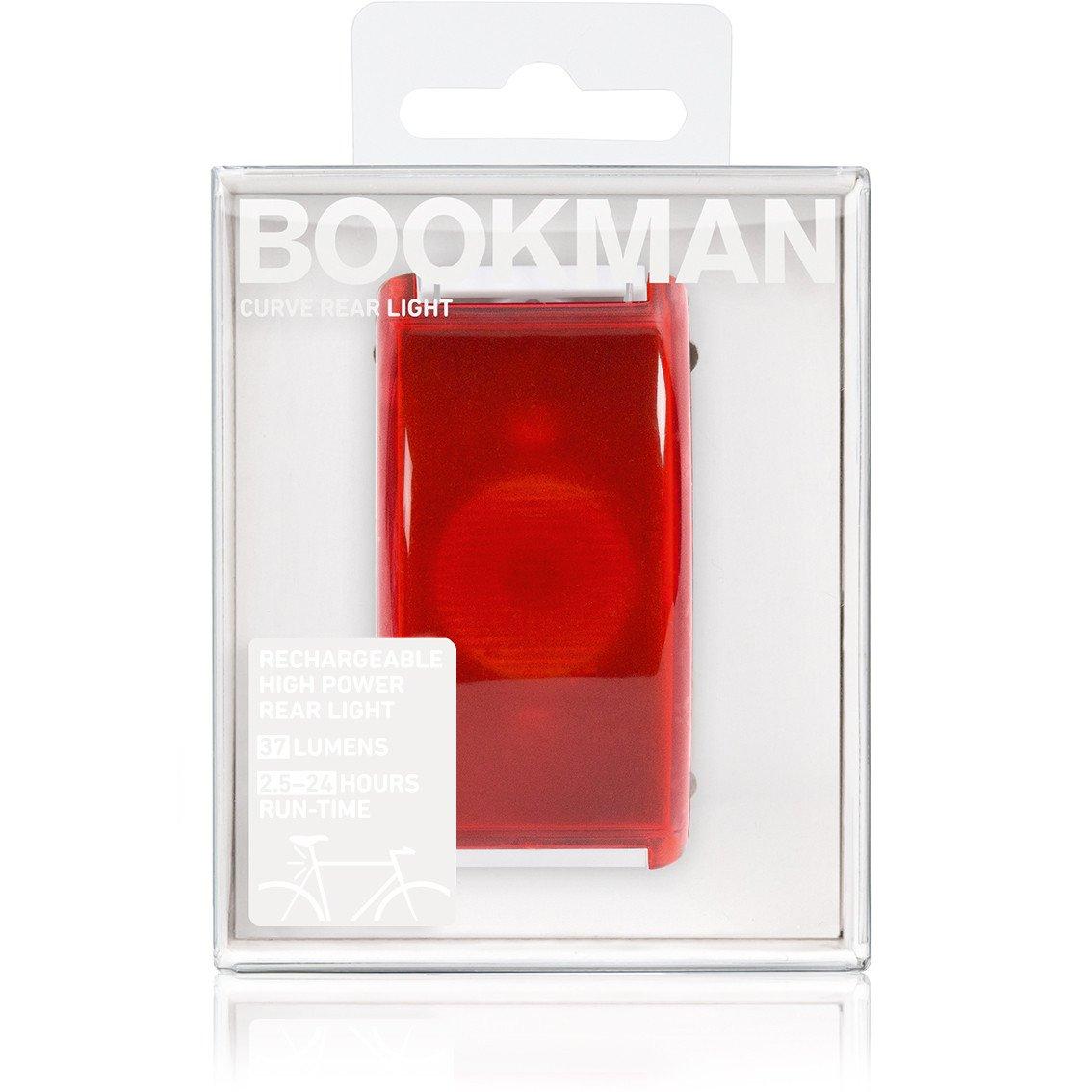 Bookman Curve baglygte USB hvid | Rear lights