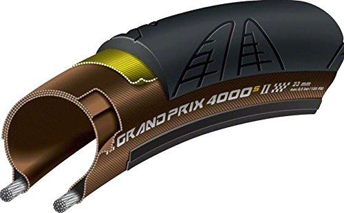 Continental Grand Prix 4000 S II 700x23c sort/transparent | Dæk