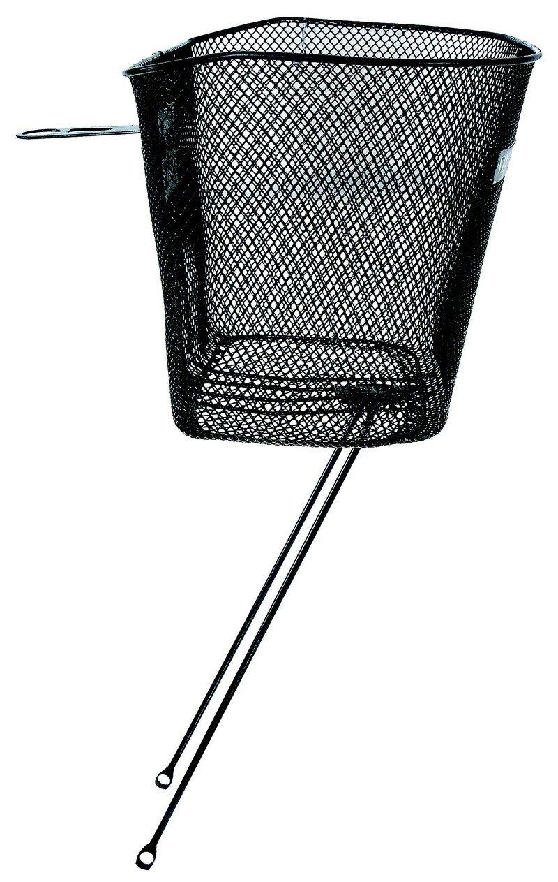 Kurv Net til front med stiver sort | Bike baskets