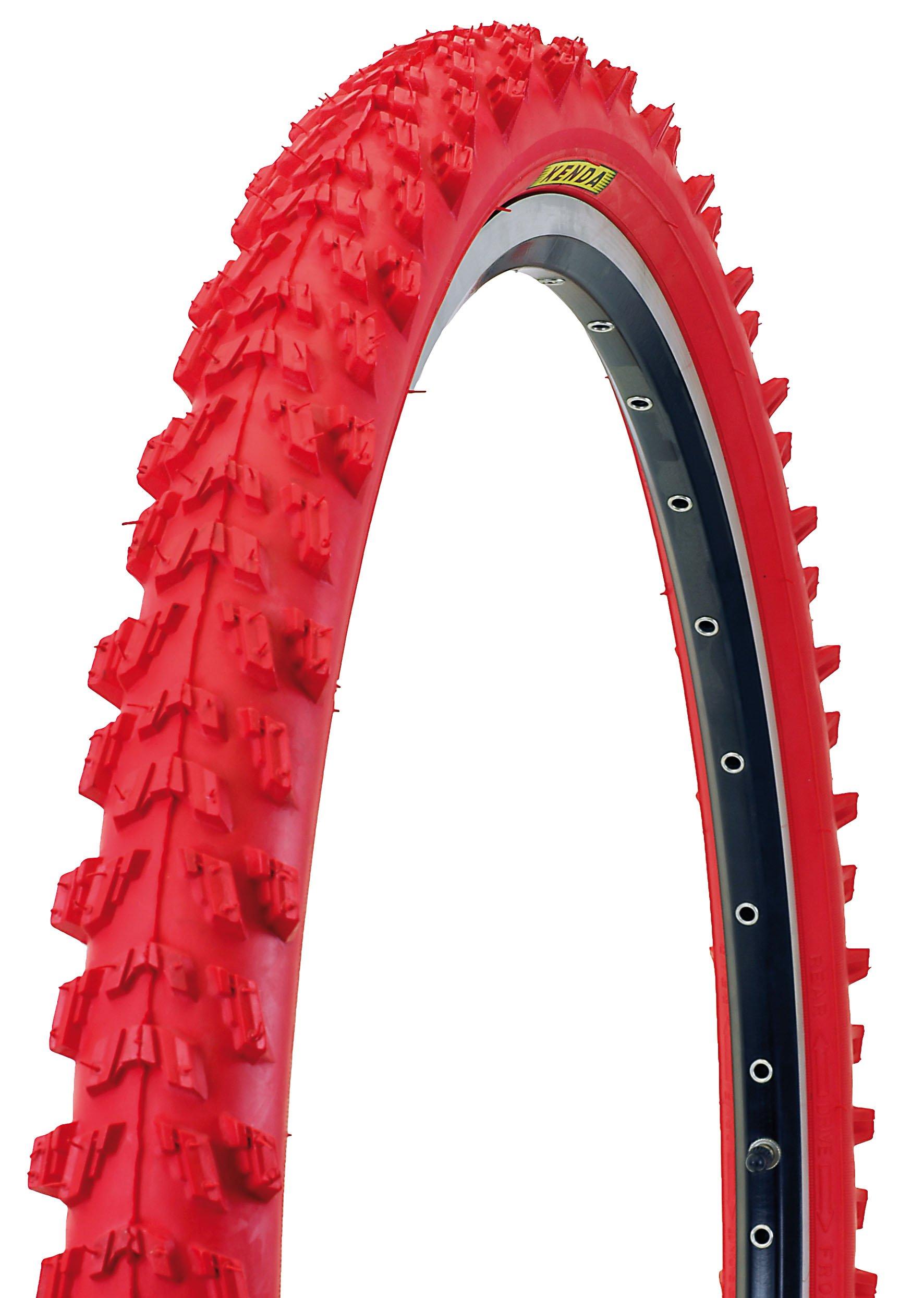 Rød Kenda dæk til MTB 26x1,95 K-829 - 99,00 : Cykelgear.dk - Cykelgear.dk