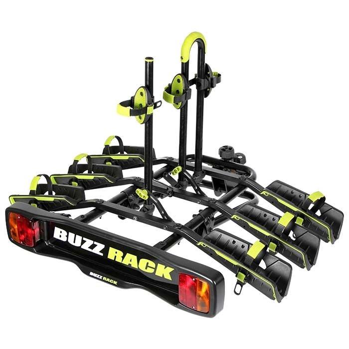 Buzzrack Wing stativ til 3 cykler | City