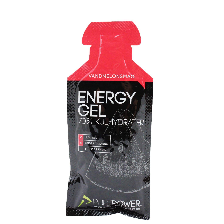 PurePower Energi Gel Vandmelon 40 gram | Energy gels