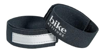 Buksebånd sort med 3M Refleks (2 Stk) | item_misc