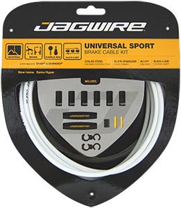 Jagwire Bremsekabelsæt Race/MTB Hvid   Bremsekabler