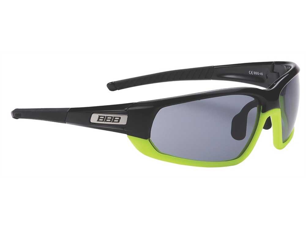 BBB Adapt Sort/grøn Brille med 3 sæt linser