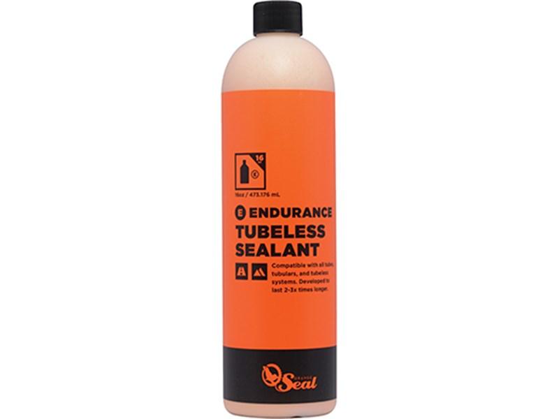 Orange Seal Tubeless væske Endurance 473 ml | Lappegrej og dækjern