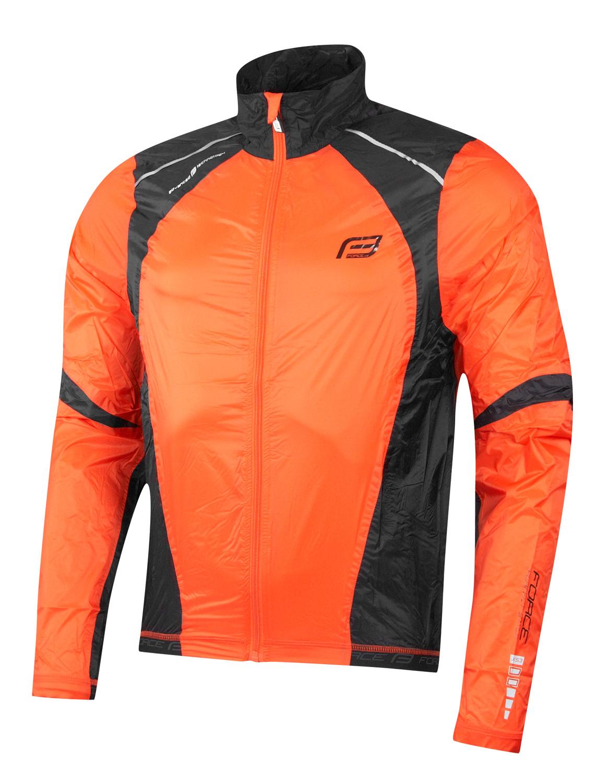 Force X53 vindjakke orange/sort | Jakker