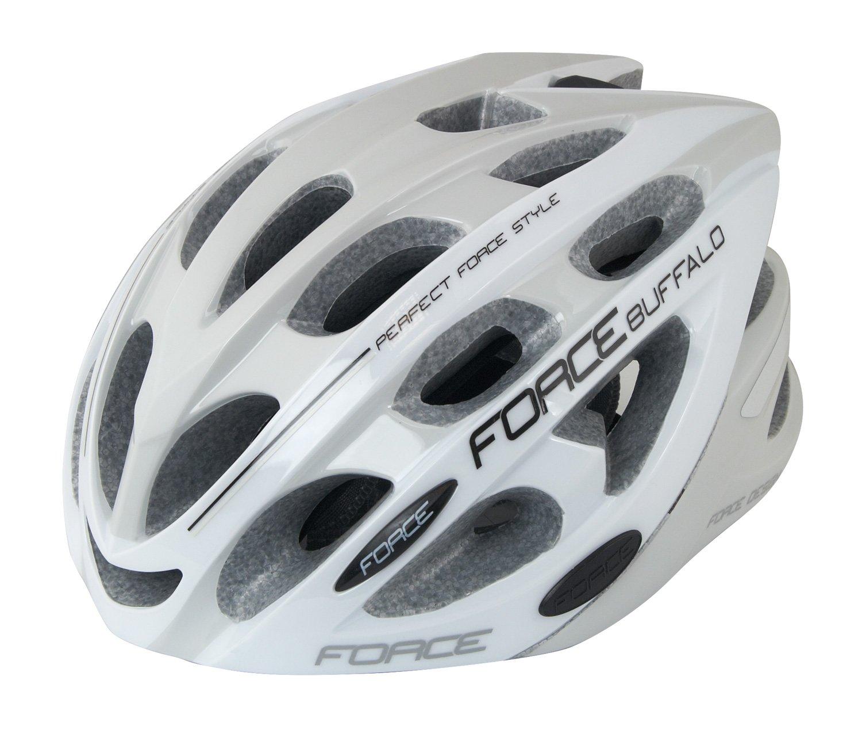 Force Buffalo hjelm hvid/grå   Helmets