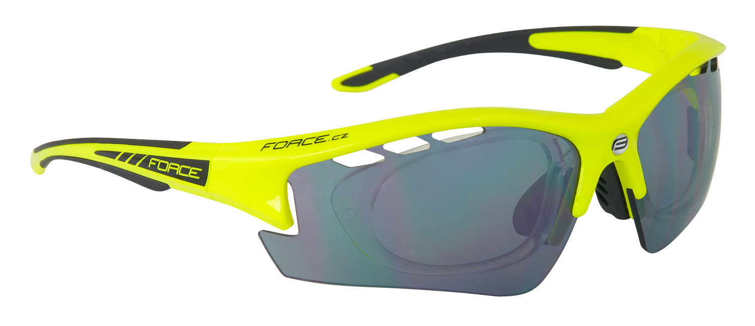 force - F Ride cykelbrille med linse indsats