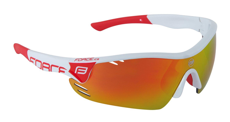 Force Race Pro Briller Hvid/rød