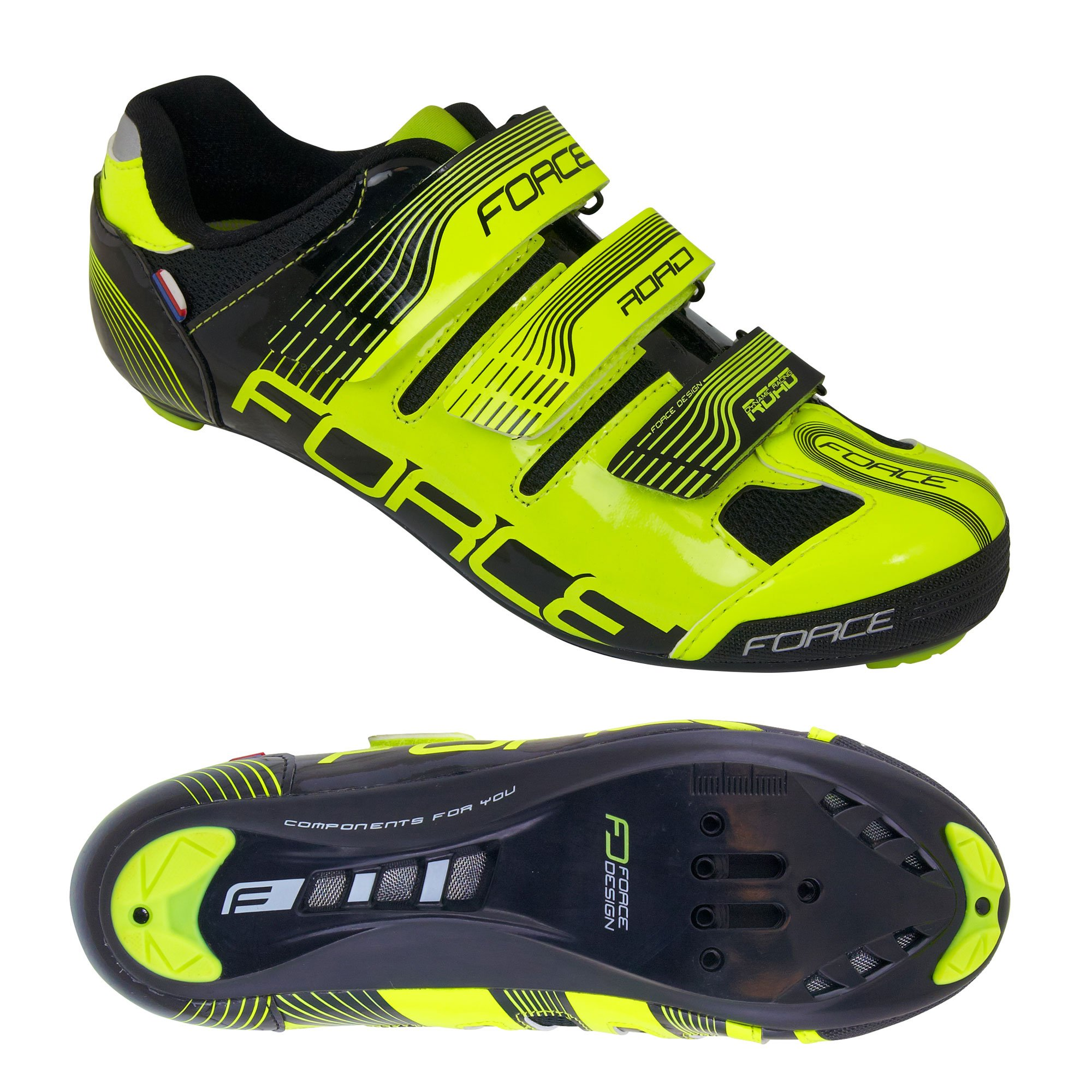 Force Road racer sko sort/fluo | Sko