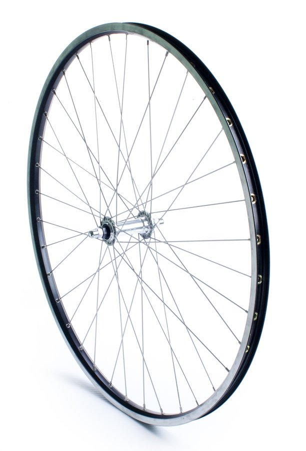 Forhjul 700c city ZAC19 sort eller sølv | Forhjul