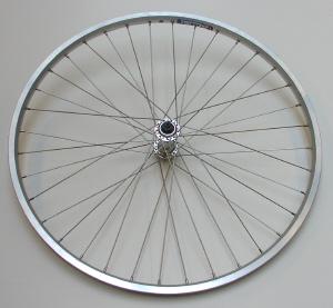 Forhjul 26MTB,ZAC19 sølv fælg | Hjul