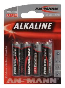 AA Alkaline batterier 4 stk. | Batterier og opladere