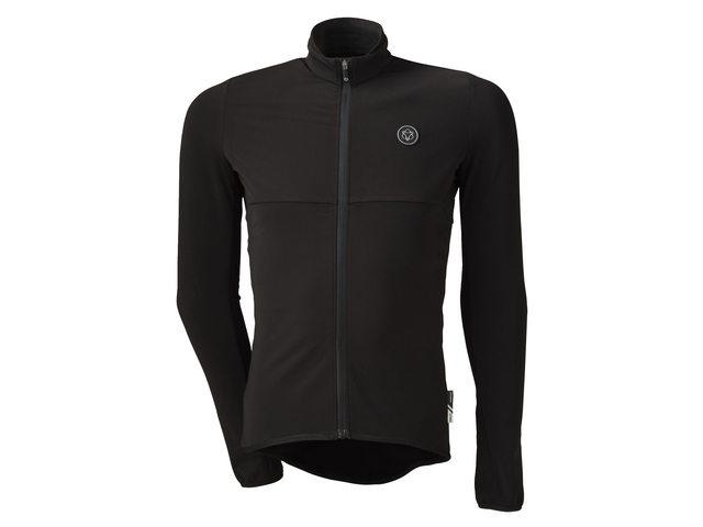 AGU Essential Thermo længærmet cykeltrøje sort