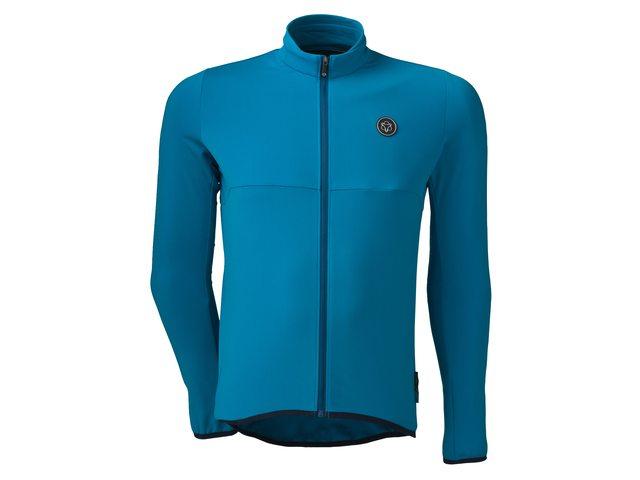 AGU Essential Thermo længærmet herre cykeltrøje i sort | Trøjer