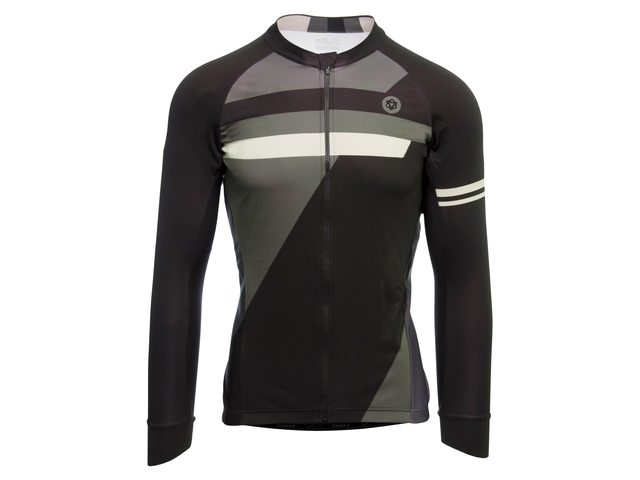 AGU Essential inception længærmet cykeltrøje sort/grå | Trøjer
