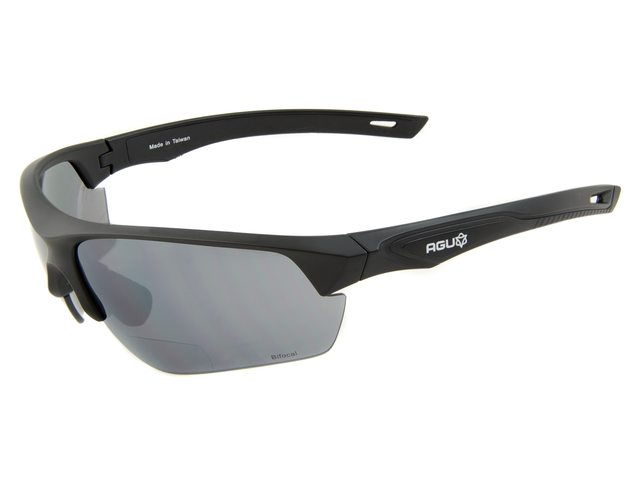 AGU Medina cykelbriller sort med styrke +1.0 | Briller