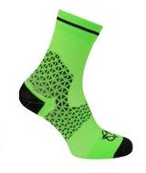 AGU Pro Sommer cykelstrømper Neon grøn/sort